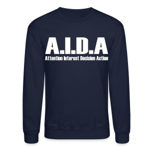 The Art of Selling | AIDA Long Sleeve T-Shirt - Crewneck Sweatshirt