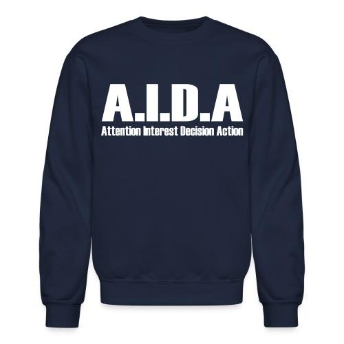 The Art of Selling | AIDA Long Sleeve T-Shirt - Crewneck Sweatshirt