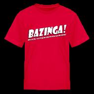 Kids' Shirts ~ Kids' T-Shirt ~ Sheldon Cooper - Bazinga