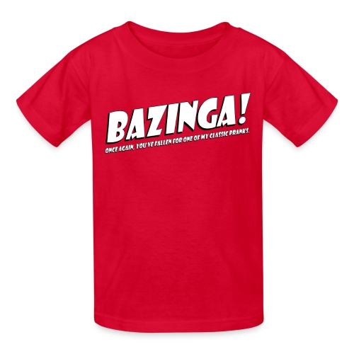 Sheldon Cooper - Bazinga  - Kids' T-Shirt
