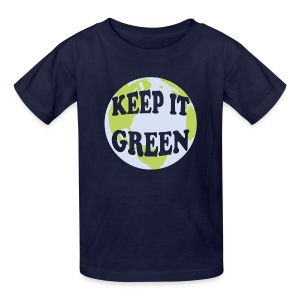 KEEP IT GREEN - Kids' T-Shirt