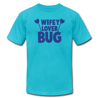 wifey wife lover love bug with cute antennae T-Shirts