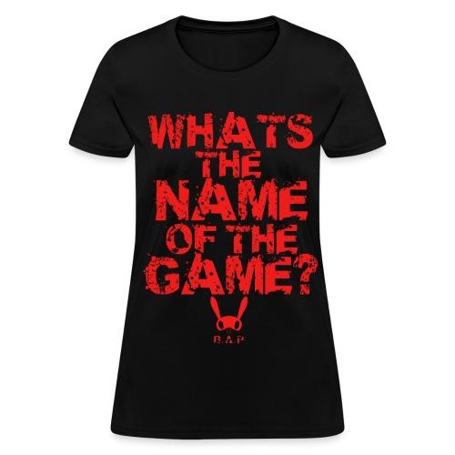 B.A.P WHATS THE NAME (YONGGUK) - Women's T-Shirt