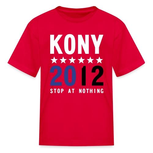 KONY 2012 Stop at Nothing Kid's t-shirt - Kids' T-Shirt