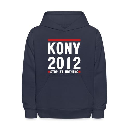 KONY 2012 Stop at Nothing HOODIE - Kids' Hoodie