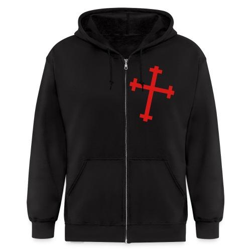 Boys New Allegiance Zipper Hoodie - Men's Zip Hoodie
