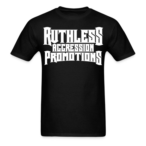 Ruthless Aggression Promotions Logo Tee - Men's T-Shirt