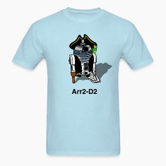 Pirate Droid Arr2-D2 T Shirt for fans of Star Wars