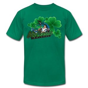 MsConduct St. Patrick's Short Sleeve Mens T - Men's T-Shirt by American Apparel