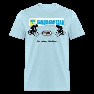 T-Shirts ~ Men's T-Shirt ~ Light Blue Synergy