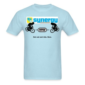 Light Blue Synergy - Men's T-Shirt