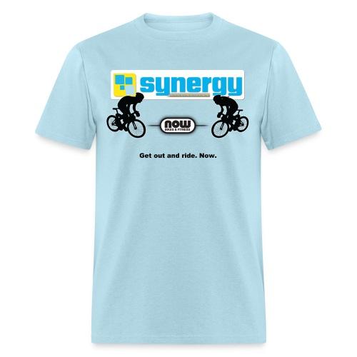 Light Blue Synergy - Men's T-Shirt