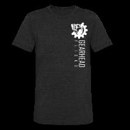 T-Shirts ~ Unisex Tri-Blend T-Shirt ~ GHF logo sideways -front