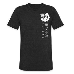 GHF logo sideways -front - Unisex Tri-Blend T-Shirt