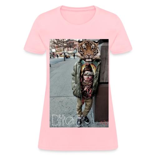 Women's Tiger Head Tee - Women's T-Shirt