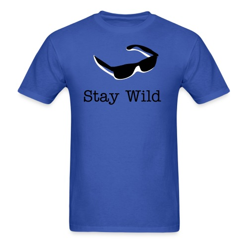 ''Stay Wild'' Sunglasses shirt - Men's T-Shirt