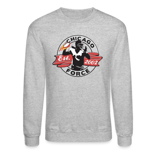 Sweatshirt - Established 2002, QB - Crewneck Sweatshirt