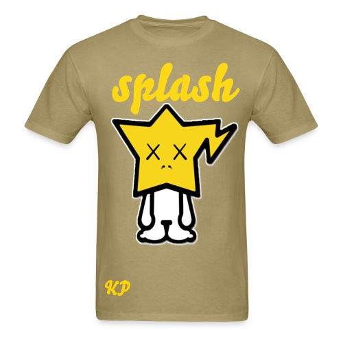 splash shirt  - Men's T-Shirt