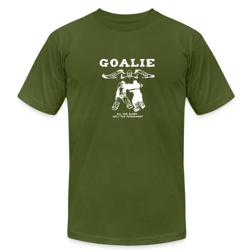 Goalie Fight Club - Men's  Jersey T-Shirt