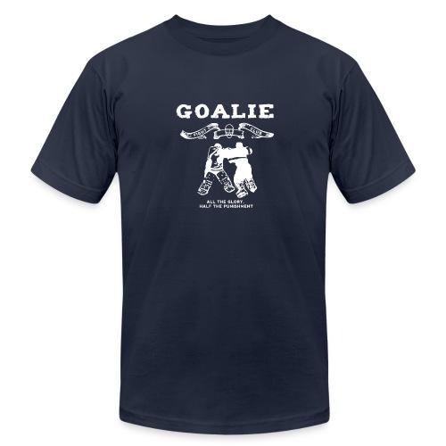 Goalie Fight Club - Men's Fine Jersey T-Shirt