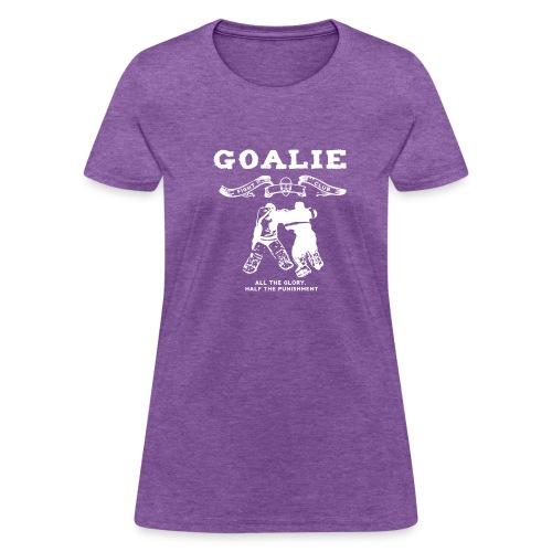 Goalie Fight Club - Women's T-Shirt