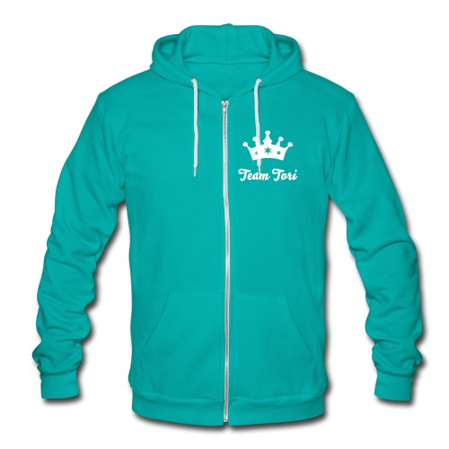 Queen Tori - Unisex Fleece Zip Hoodie