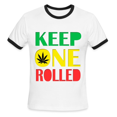 Keep One Rolled - Men's Ringer T-Shirt