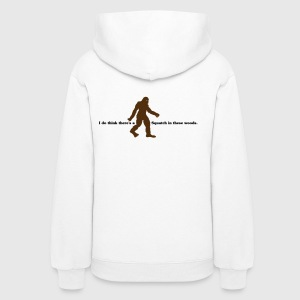 I Do Believe There's A Squatch... (Black & Brown) - Hoodie - Women's Hoodie