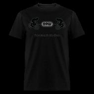 T-Shirts ~ Men's T-Shirt ~ Men's Stealth Black Now Bikes shirt