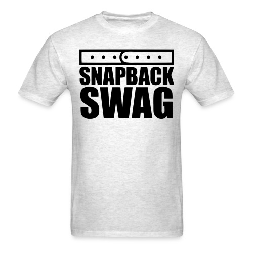 Snapback Swag - Men's T-Shirt