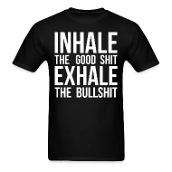 T-Shirts ~ Men's T-Shirt ~ Inhale x Exhale