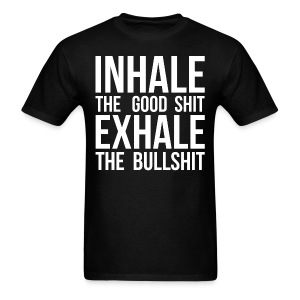 Inhale x Exhale - Men's T-Shirt