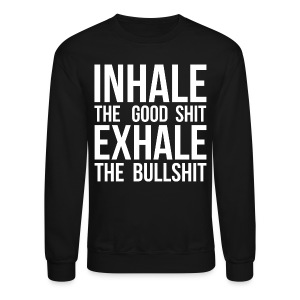 Inhale x Exhale - Crewneck Sweatshirt