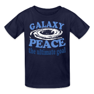 Kids' Shirts ~ Kids' T-Shirt ~ Galaxy Peace
