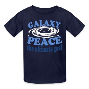 Galaxy Peace - Kids' T-Shirt