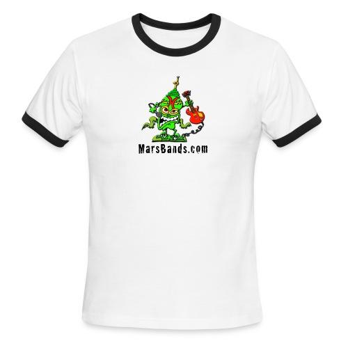 Men's Ringer T-Shirt (Black Text) - Men's Ringer T-Shirt