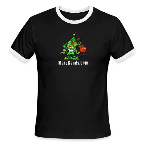 Men's Ringer T-Shirt (White Text) - Men's Ringer T-Shirt