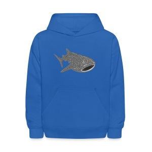 animal t-shirt whale shark fish dive diver diving endangered species - Kids' Hoodie