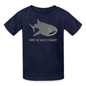 animal t-shirt whale shark fish dive diver diving endangered species - Kids' T-Shirt