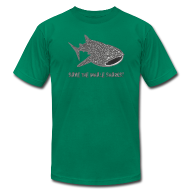 T-Shirts ~ Men's T-Shirt by American Apparel ~ animal t-shirt whale shark fish dive diver diving endangered species
