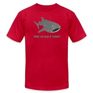 animal t-shirt whale shark fish dive diver diving endangered species - Men's Fine Jersey T-Shirt