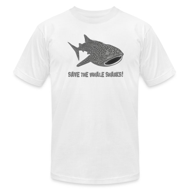 animal t-shirt whale shark fish dive diver diving endangered species