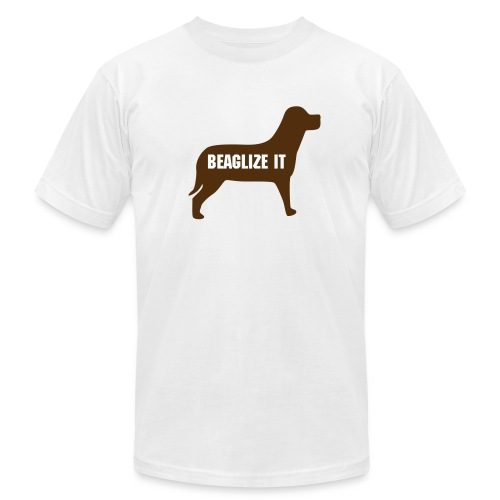 Beaglize it! - Men's Fine Jersey T-Shirt