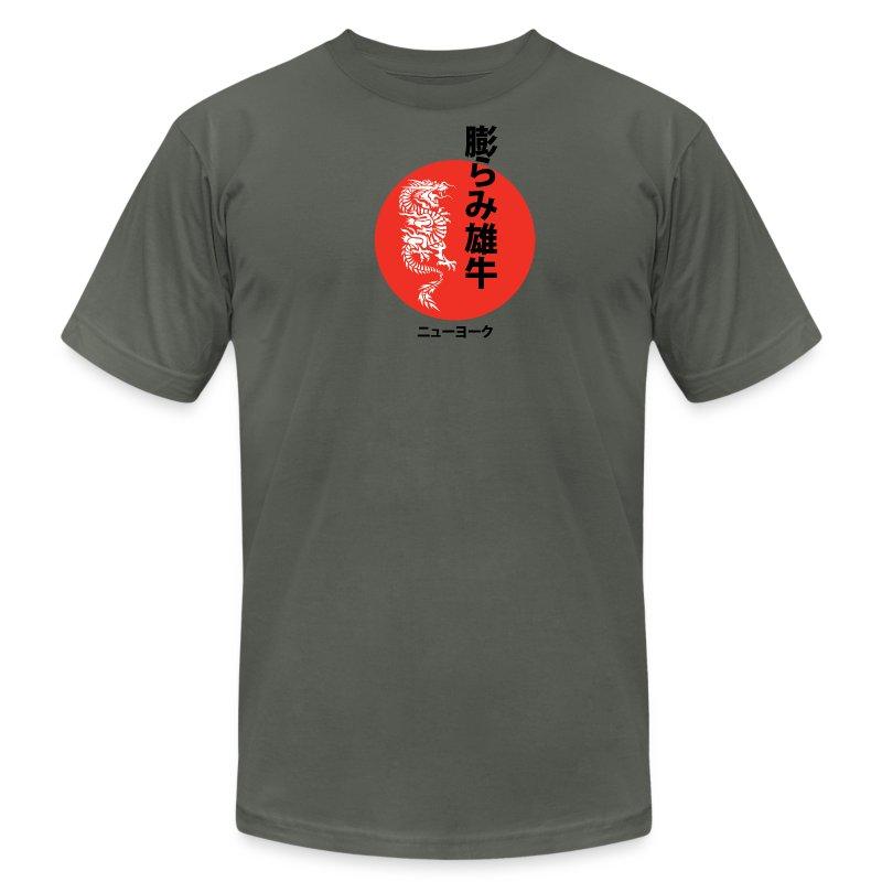 BULGEBULL DRAGON - Men's Fine Jersey T-Shirt