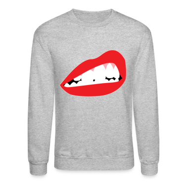 Lip Bite Crewneck