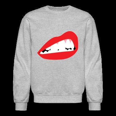 Lip Bite Crewneck