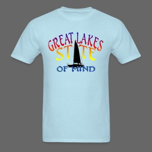 Great Lakes State of Mind - Men's T-Shirt