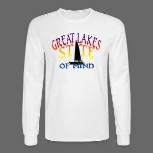 Great Lakes State of Mind - Men's Long Sleeve T-Shirt