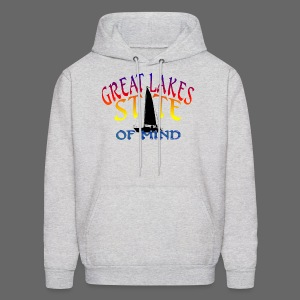 Great Lakes State of Mind - Men's Hoodie