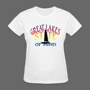 Great Lakes State of Mind - Women's T-Shirt